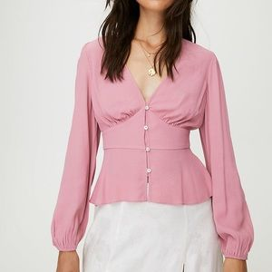 BNWT Aritzia Wilfred top size small